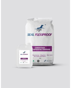 Seal Flexiproof - Flexible Cementatious Waterproofing