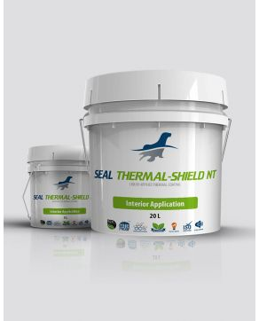thermal insulation reflective ceramic coating for interior