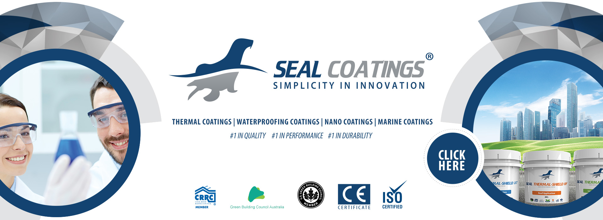 seal coatings - thermal insulation reflective waterproofing paint coatings roof walls UAE Dubai