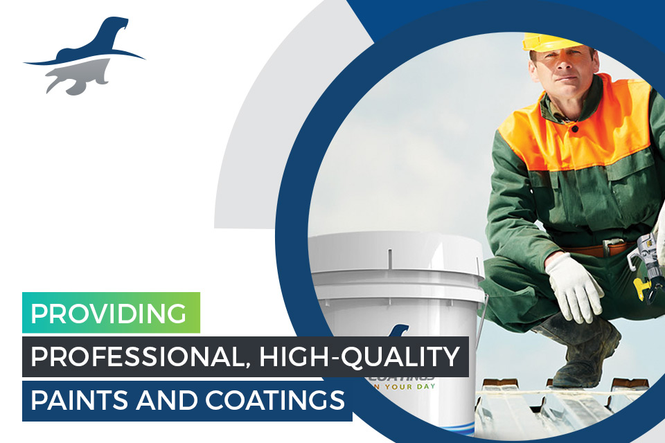 Providing professional, high quality paints and coatings