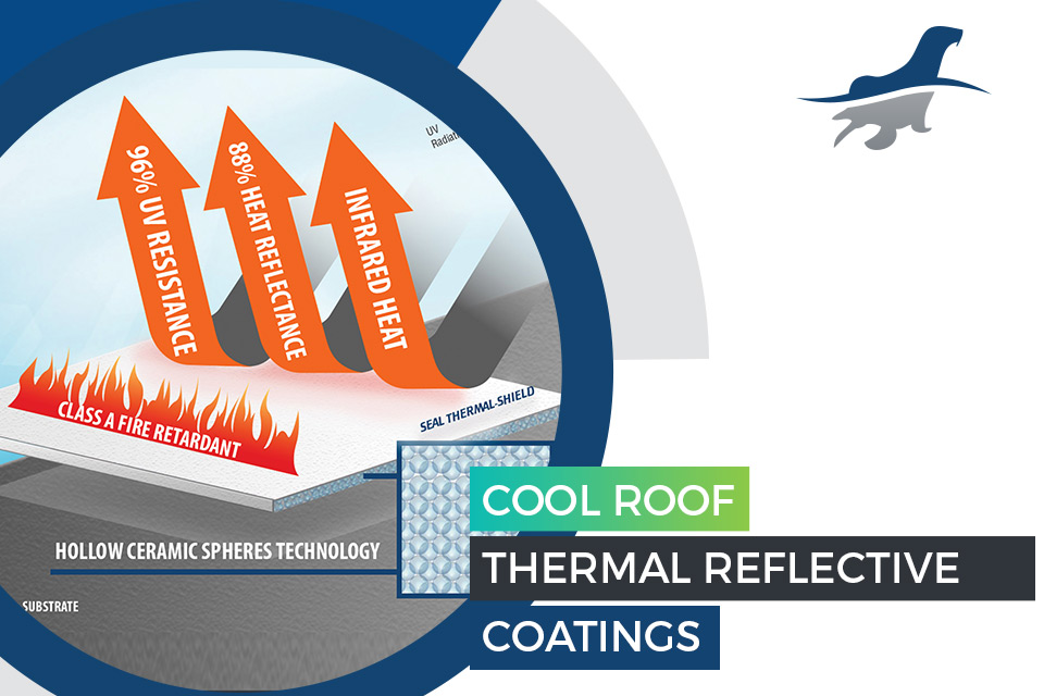 Cool Roof Thermal Reflective Coatings