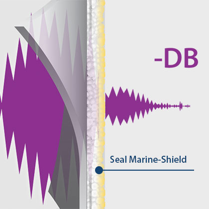 Marine-Shield Sound Damping Thermal Coating