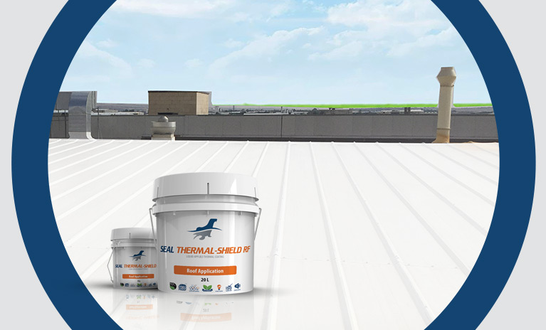 Roof replacement or roof repair with Seal Coatings