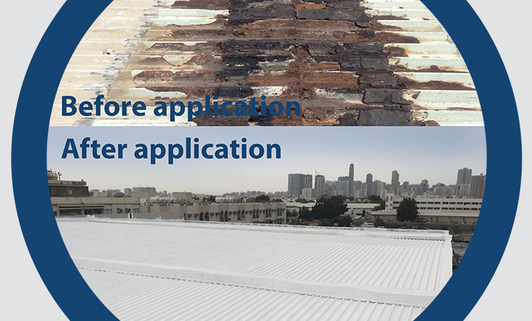 Roof Repair metal and concrete UAE Dubai