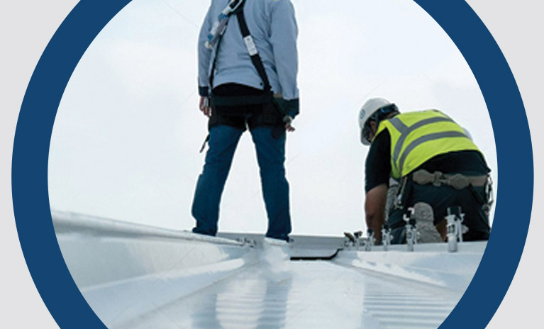 Metal Roof Repair / Restoration Waterproofing UAE Dubai Sharjah France